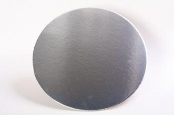 305 mm Round Silver Cake Board (40)