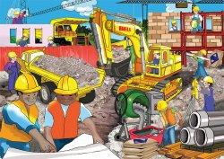 RGS Wooden Puzzle Excavator 36Pcs