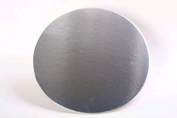 305 mm Round Silver Cake Board