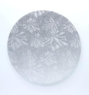 178 mm Round Silver Cake Board