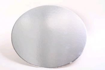 356 mm Round silver Cake Board