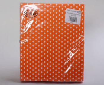 Orange White Polka Dot Small Serviette (20)