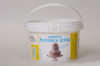 Yellow Plastic Icing (1 kg)