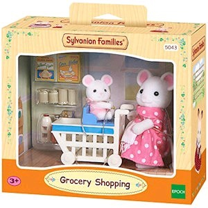 Sylvanian Family Grocery Shopping