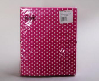 Pink Cerise White Small Polka Dot Serviette (20)