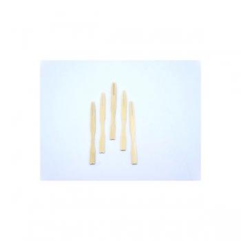 Wooden Cocktail Fork 9cm (100)