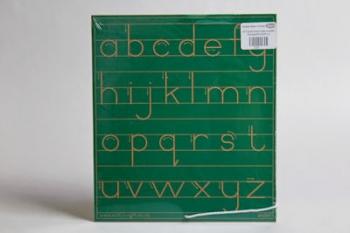 Write Right Gauteng Standard Lower Case Line Green