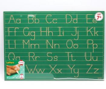 Write Right Gauteng Std Alphabet Lines Combo Green