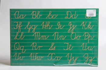 Write Right Cursive Aphabet Lines Combo Green