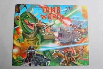 Top Model Dino Sticker Colouring Book