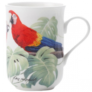 Maxwell & Williams Scarlet Macaws Mugs (1)
