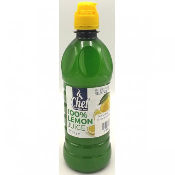 Chef Lemon Juice 500ml