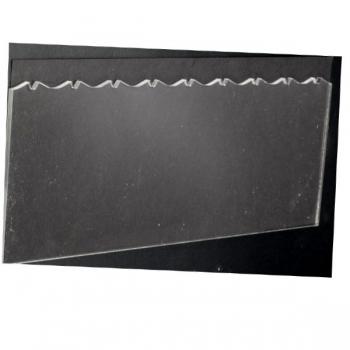 Perspex Cake Scraper Pattern 250mm (1)