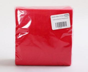 Red 2 Ply Serviette (50)