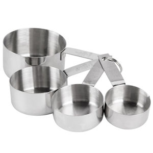 Measuring Cups Stainless Steel 4 Pcs