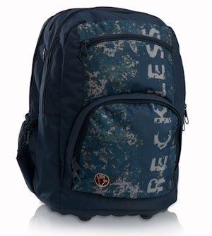 Totem Orthopedic School Bags Large Style Reckless