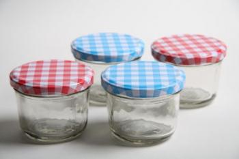 150 ml Glass Jar with Check Lid (48)