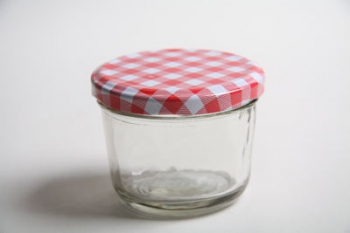 151 ml Glass Jar with Check Lid