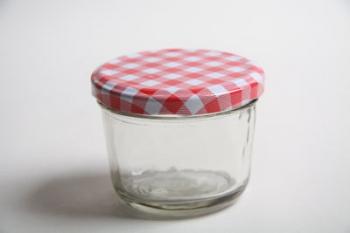 151 ml Glass Jar with Check Lid
