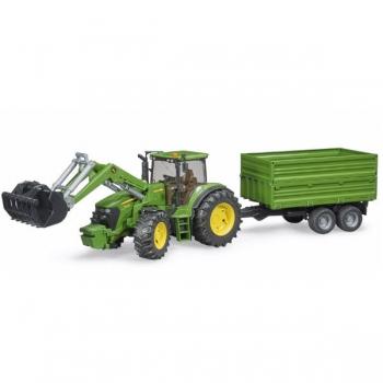 Bruder John Deere 7930 Tractor Frontloader Trailer