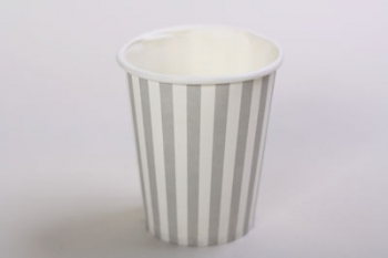 Dot or Stripe Silver Paper Cup (10)