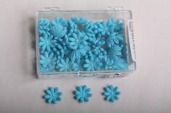 Blue Daisy Icing