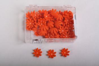 Orange Daisy Icing