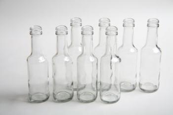 125 ml Worcester Sauce Glass Bottle (24)