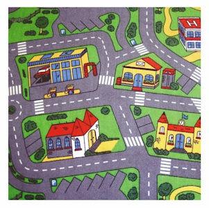 1.33x1.8 m Roads Playmat