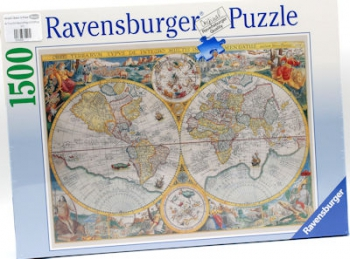 Ravensburger Puzzles  1500Pce Historic Map