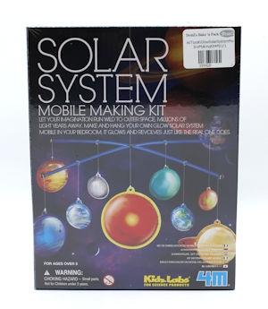 4M Glow Solar System Mobile Making Kit