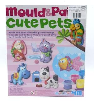 4M Mould & Paint Cute Pets