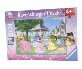 Ravensburger Puzzles  2x24Pce Magical Princesses
