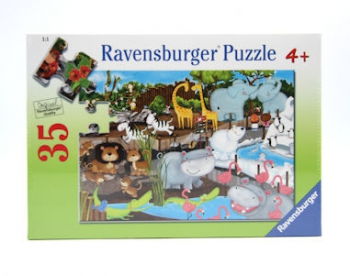 Ravensburger Puzzles  35Pce Day At The Zoo