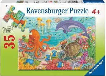 Ravensburger Puzzles  35Pce Ocean Friends