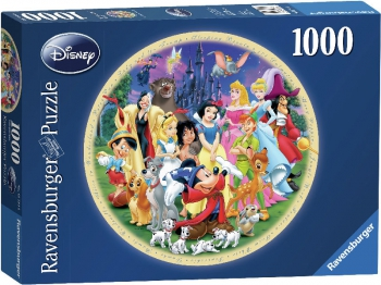 Ravensburger Puzzles 1000Pce Round World of Disney
