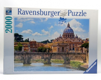 Ravensburger Puzzle Bridge Of Angels Rome 2000Pcs