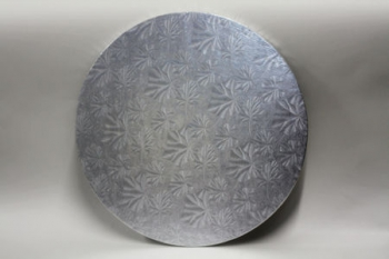 254 mm Round Silver Cake Board (10)