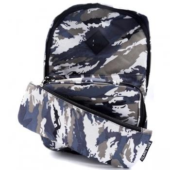 Island Club School Bag Set - Grey Camo
