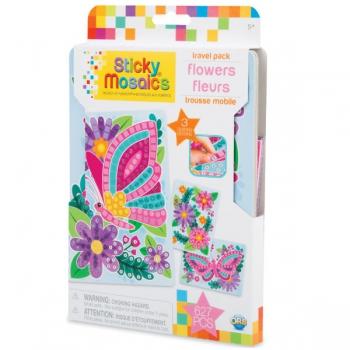 Sticky Mosaics Travel Pack Flowers
