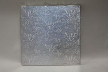 254 mm Square Silver Cake Board (10)
