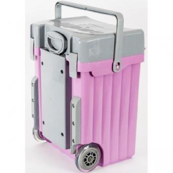 Cadii School Bags Lilac Grey