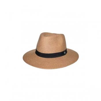 Emthunzini Hats Braided Fedora M/L 58cm Caramel (1