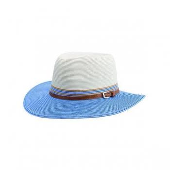 Emthunzini Hats Bella M/L 58cm Ivory Blue (1)