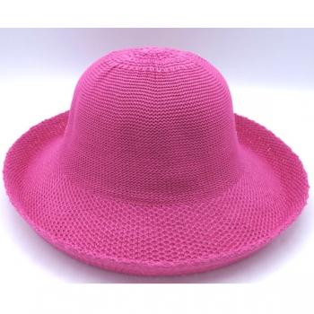 Emthunzini Hats Breton Petite 55cm Hot Pink SPF50