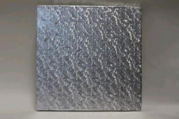 203 mm Square Silver Cake Board