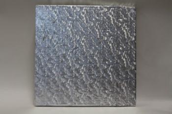 203 mm Square Silver Cake Board (10)