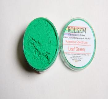 Leaf Green Rainbow Colour