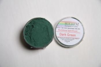 Dark Green Rainbow Colour