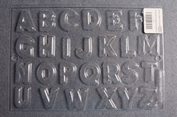 Letters Chocolate Mould